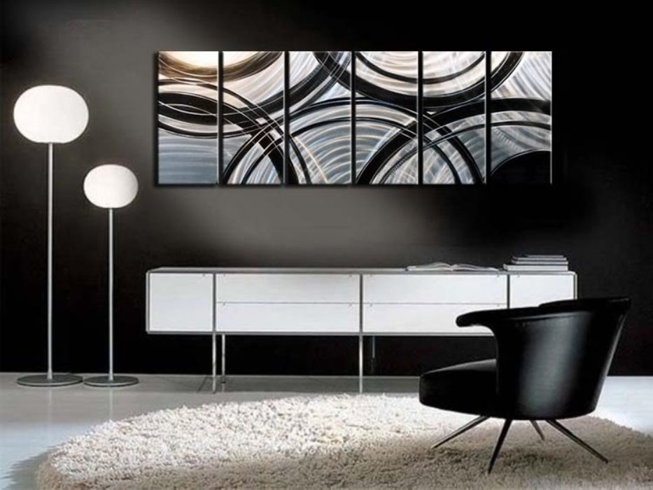 Contemporary Wall Art Decor Large : Great Ideas Contemporary Wall Within Contemporary Wall Art Decors (Image 4 of 10)