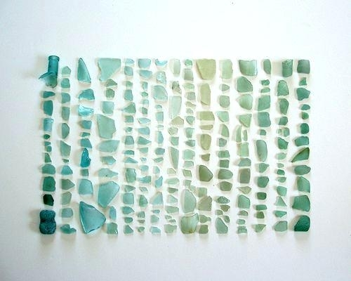 Cool And Opulent Sea Glass Wall Art – Ishlepark For Sea Glass Wall Art (Image 4 of 10)
