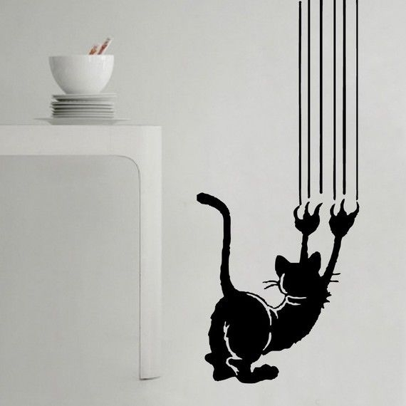Cool Cat Art For Walls – Blog Home – Dena Harris: Dena Harris With Regard To Art For Walls (Image 5 of 10)