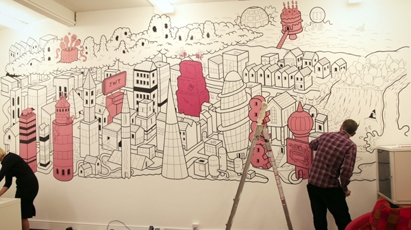 Cool Office Wall Art – Cool Office Interiors For Office Wall Art (Image 3 of 10)