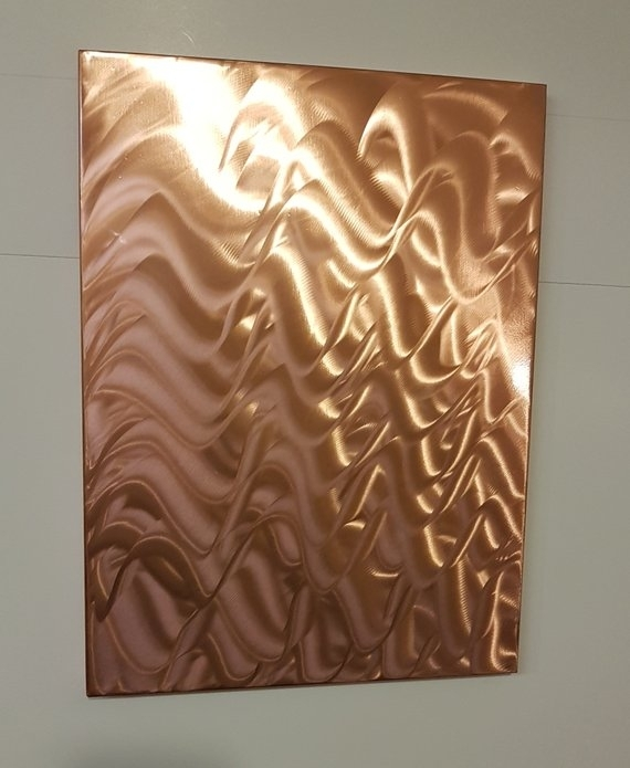 Copper Wall Art – Copperdesign Inside Copper Wall Art (Image 3 of 10)