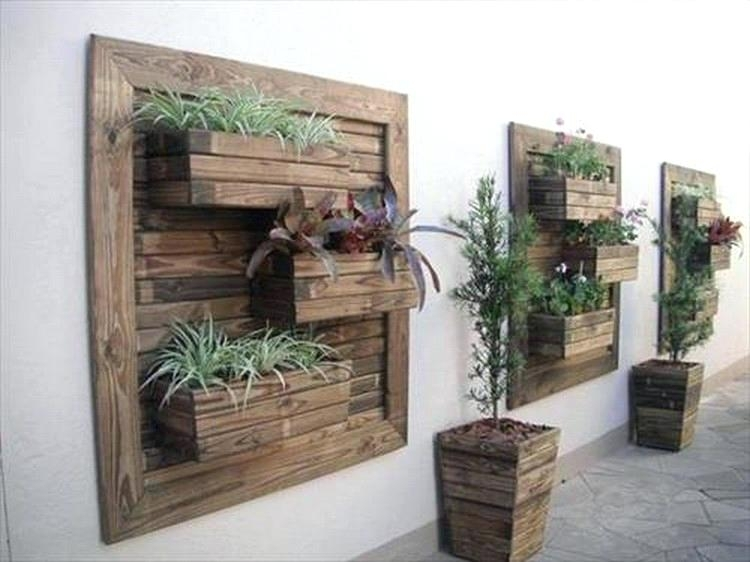 Creative Ideas For Wood Pallets Creative Ideas Wood Pallet Wall Inside Pallet Wall Art (Image 5 of 10)
