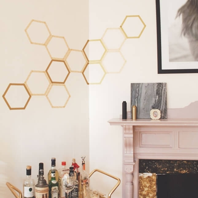 Creative Washi Tape Wall Art Ideas You Should See Regarding Washi Tape Wall Art (Image 4 of 10)