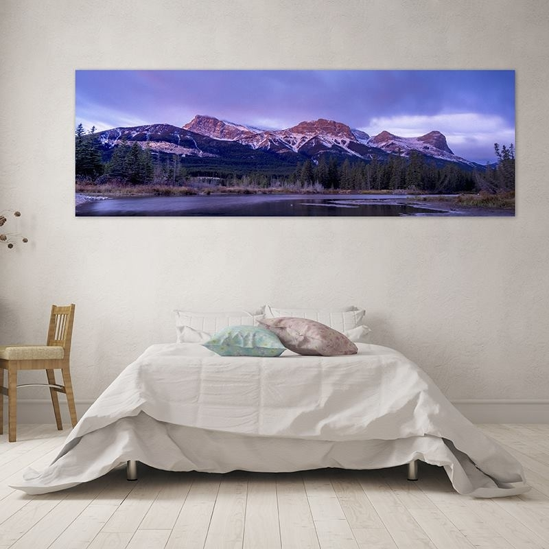 Custom Panoramic Canvas Prints | Panoramic Canvas Art With Your Design Intended For Panoramic Wall Art (Image 5 of 10)