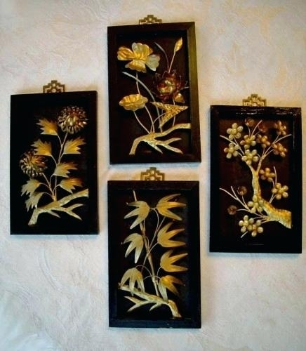 Decoration: Asian Wall Decor Intended For Asian Wall Art (Image 8 of 10)