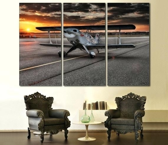 Decoration: Stunning Design Aviation Wall Art Inspiration Ideas With Regard To Aviation Wall Art (Photo 7 of 10)