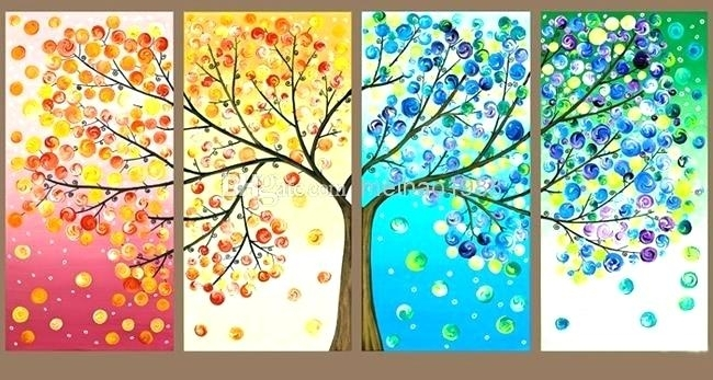 Decoration: Wall Art Ideas Design Hand Painted Colorful Decorations For Colorful Wall Art (Image 6 of 10)