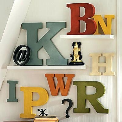 Decorative Letters For Wall – Cbvfd With Metal Letter Wall Art (View 4 of 10)