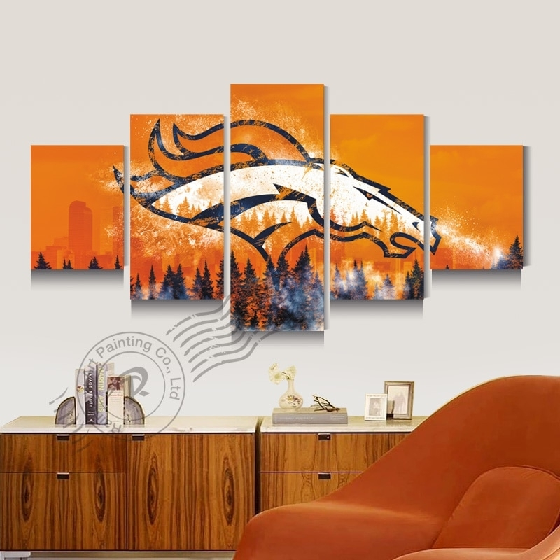 Featured Image of Broncos Wall Art
