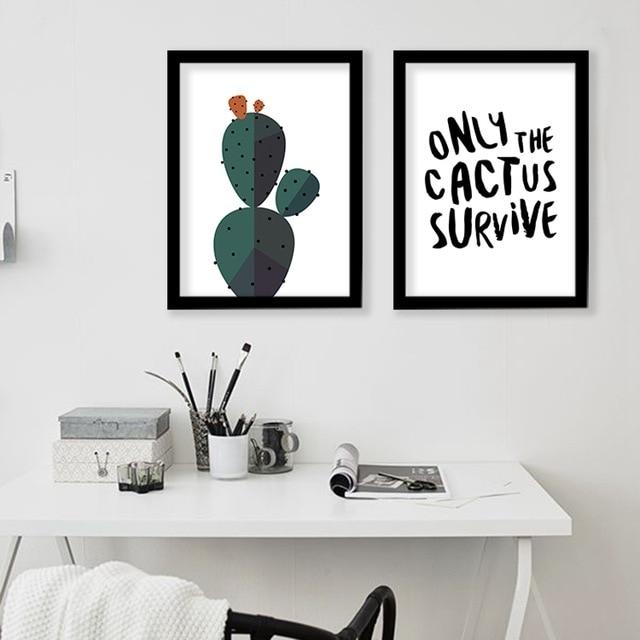 Desert Cactus Wall Art Print Decorative Wall Painting , Cactus Regarding Cactus Wall Art (Image 5 of 10)