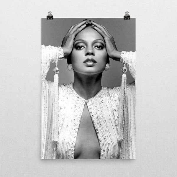 Diana Ross Poster (755 Uah) ❤ Liked On Polyvore Featuring Home Intended For Ross Wall Art (Image 4 of 10)