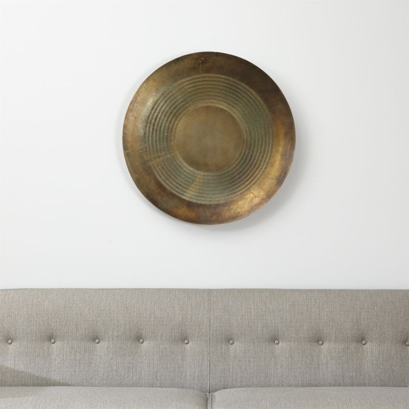 Disc Metal Wall Art Reviews Crate And Barrel Remarkable Decorative Pertaining To Crate And Barrel Wall Art (View 9 of 10)