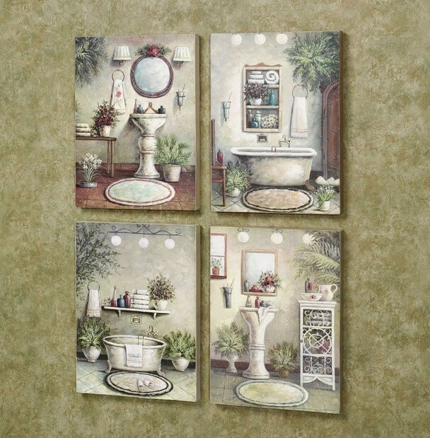 Diy Bathroom Wall Art Decor Bathroom Decor Ideas, Bathroom Wall Art Inside Bathroom Wall Art Decors (Image 8 of 10)