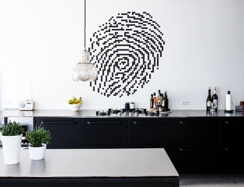 Diy Pixelated Wall Artwork : Custom Wall Art Regarding Custom Wall Art (Image 6 of 10)
