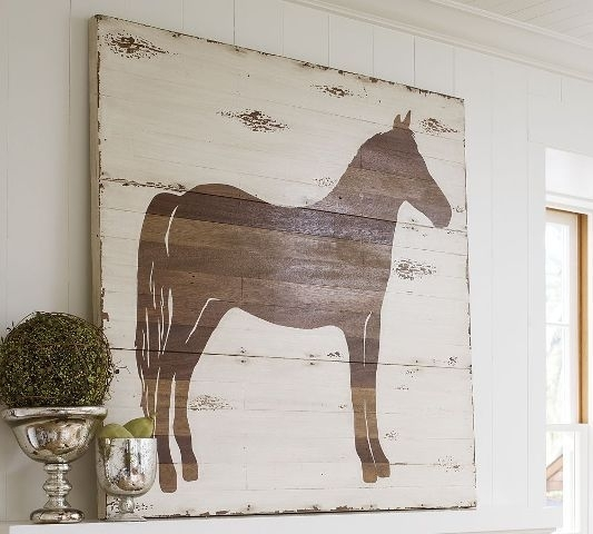 Diy Pottery Barn Knockoff Art – Made From Wood Plank Paneling Throughout Pottery Barn Wall Art (Image 4 of 10)