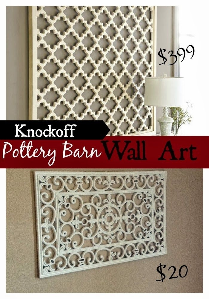Diy Pottery Barn Wall Art Knockoff | Wall Art | Pinterest | Pottery Within Pottery Barn Wall Art (Image 5 of 10)