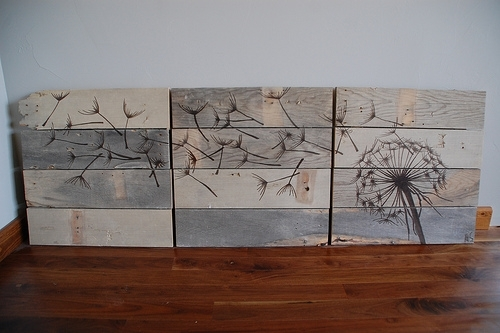 Diy Rustic Wood Wall Art – Shelterness For Diy Wood Wall Art (Image 5 of 10)