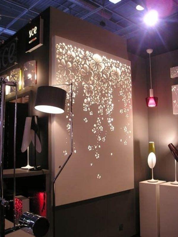 Diy String Light Backlit Canvas Art Ideas Crafts – Light Up Canvas Throughout Light Up Wall Art (Image 6 of 10)