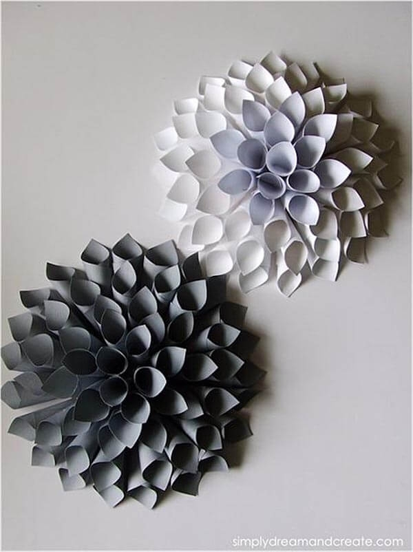 Diy Wall Art Beautiful Paper Wall Art – Wall Decoration Ideas With Paper Wall Art (Image 3 of 10)