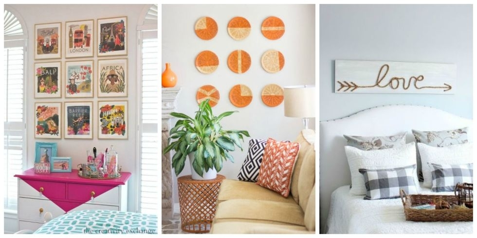 Diy Wall Decor Diy Wall Art Affordable Art Ideas Inseltage Diy Wall Intended For Affordable Wall Art (Photo 1 of 10)