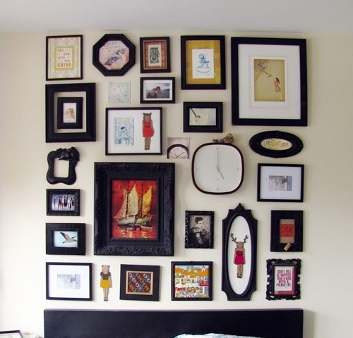 Diy Wall Decor With Frames – Gpfarmasi #d26Ba40A02E6 For Cheap Framed Wall Art (Image 6 of 10)