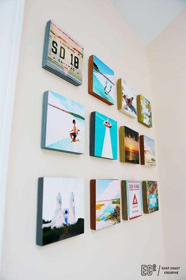 Diy Wood Block Instagram Wall Art | To Craft | Pinterest | Woods With Regard To Instagram Wall Art (Image 4 of 10)
