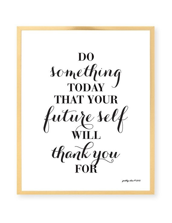 Do Something Today Inspirational Wall Art – Motivational – Work Regarding Inspirational Wall Art (View 3 of 10)