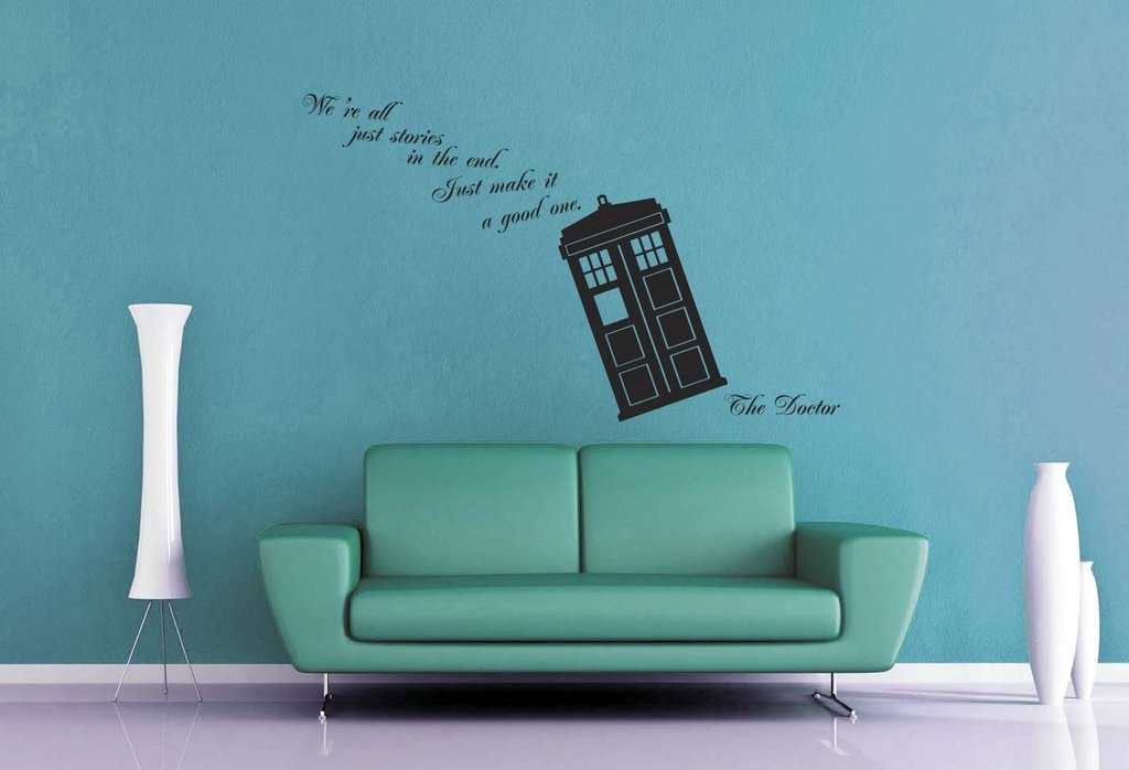 Doctor Who – We're All Stories Wall Decalgeekerymade On Deviantart Throughout Doctor Who Wall Art (Image 3 of 10)