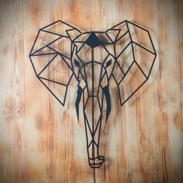 Elephant Wall Art – Innato Within Elephant Wall Art (Image 6 of 10)