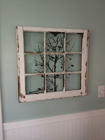 Featured Image of Window Frame Wall Art