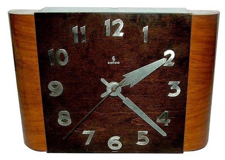 English 1930S Art Deco Wall Clocksiemens At 1Stdibs For Art Deco Wall Clock (Photo 1 of 10)