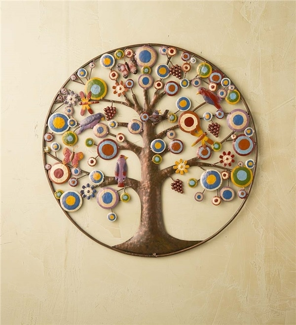 Enthralling Tree Of Life Metal Wall Art | Bargainfindsonebay For Tree Of Life Metal Wall Art (Image 2 of 10)