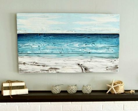 Featured Image of Large Coastal Wall Art