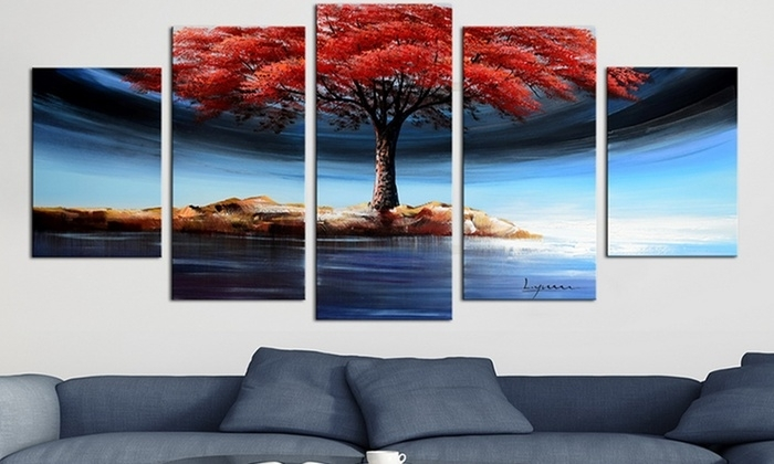 Fabuart – From $39 | Groupon Inside Wall Art Canvas (Photo 3 of 10)