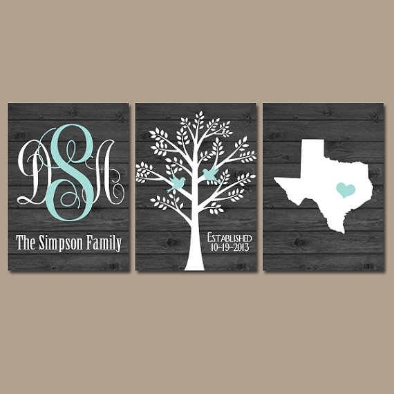 Family Tree Wall Art New Last Name Wall Art – Wall Decoration Ideas Regarding Family Name Wall Art (Image 2 of 10)