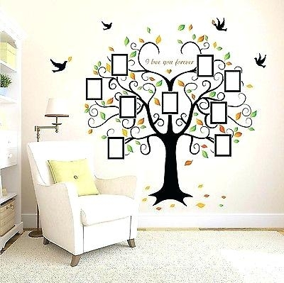 Family Tree Wall Decal Of Family Tree Wall Decal Mural Sticker Art Throughout Family Tree Wall Art (Image 2 of 10)
