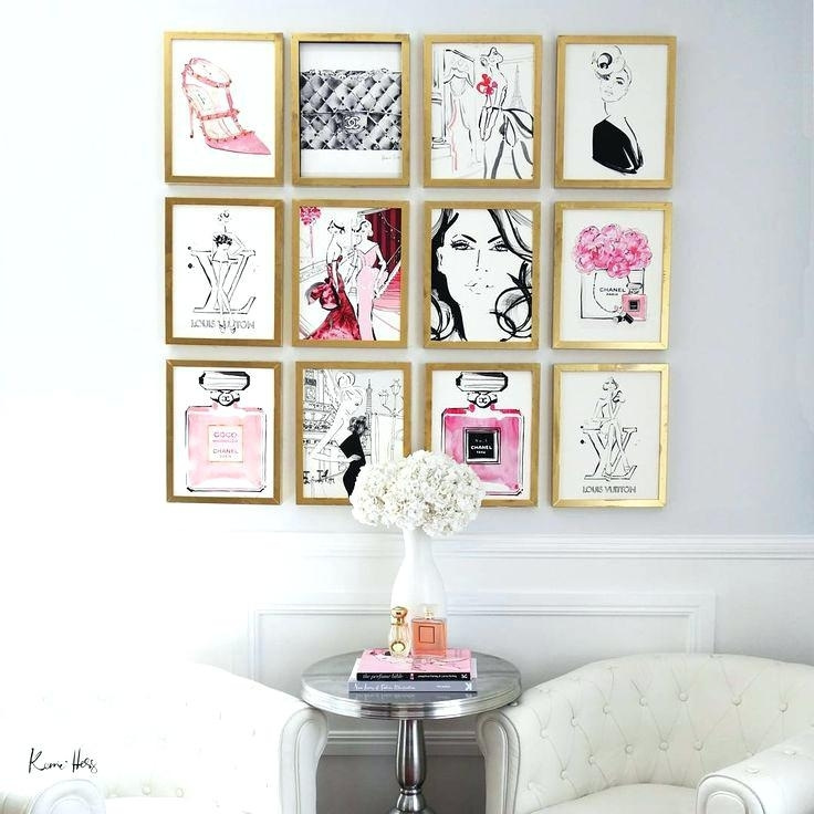 Fashion Wall Art – Ripscrabshack.co Intended For Fashion Wall Art (Photo 4 of 10)