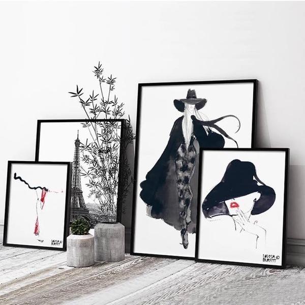 Fashion Wall Art Stunning Fashion Wall Art – Wall Decoration Ideas With Regard To Fashion Wall Art (Photo 7 of 10)