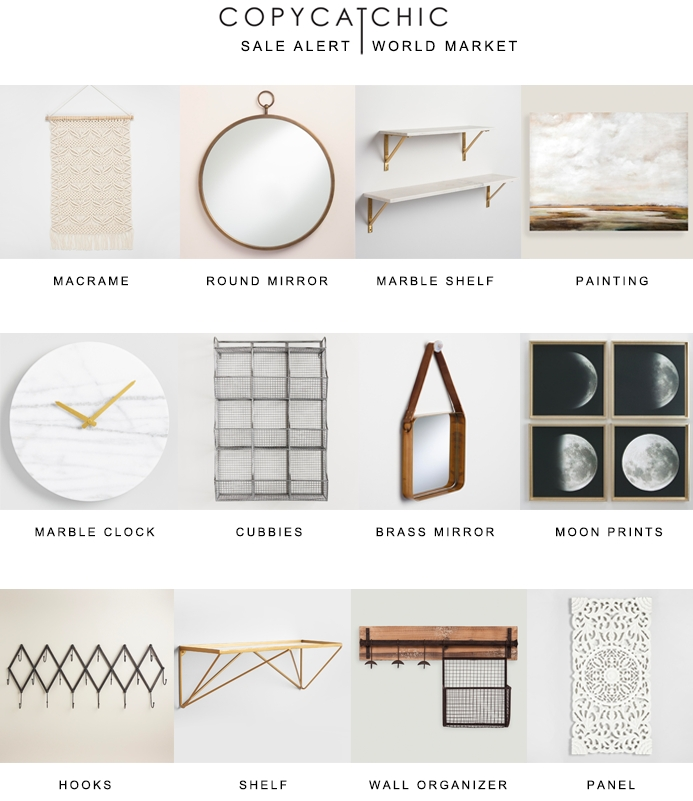 Five For Fifty | Wall Art With World Market – Copycatchic Within World Market Wall Art (Image 4 of 10)