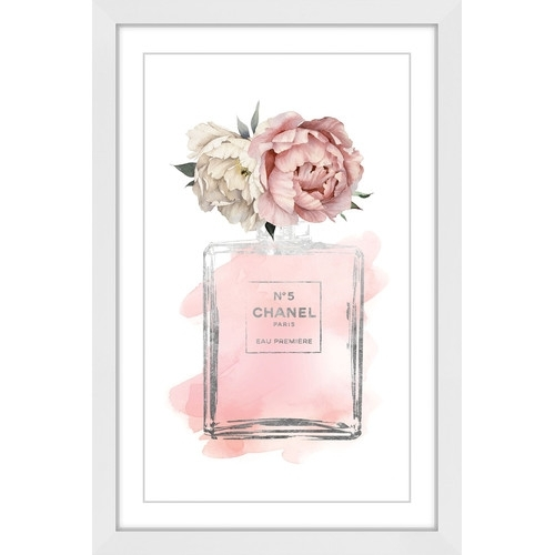Floral Peony Wall Art | Temple & Webster For Floral Wall Art (Image 2 of 10)