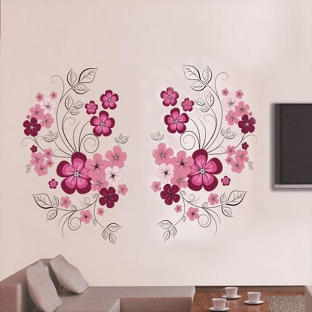 Flower Wall Art Ideal Wall Art Flowers – Wall Decoration Ideas For Flower Wall Art (Image 4 of 10)