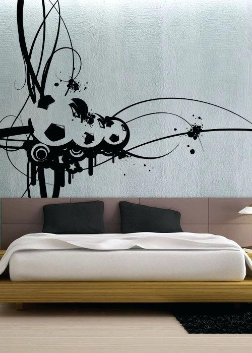 Football Wall Art Football Wall Stickers Superb Soccer Wall Art Intended For Soccer Wall Art (Image 2 of 10)