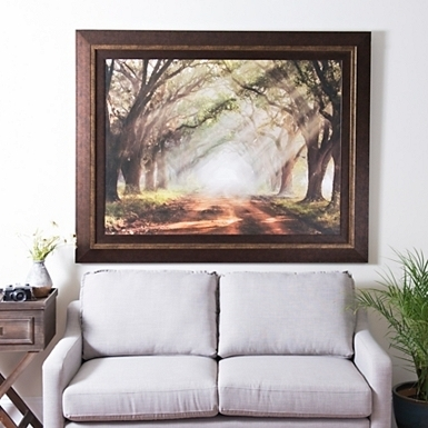Framed Art For Living Room Luxury Evergreen Plantation Framed Print Intended For Framed Wall Art For Living Room (Image 4 of 10)