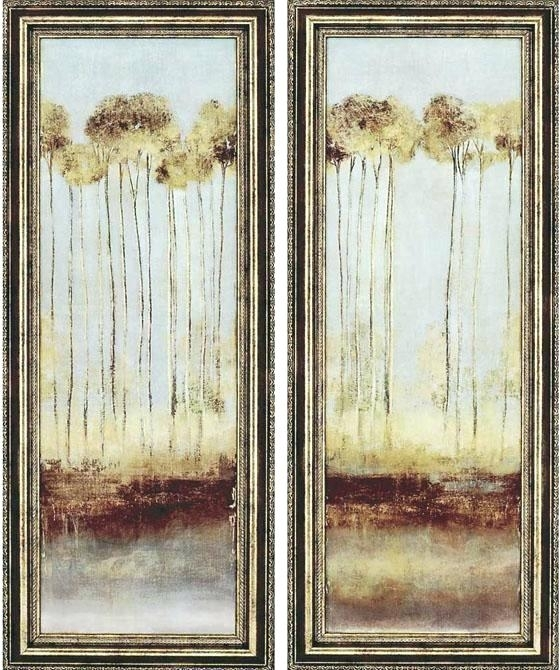 Framed Wall Art Sets Mirror Framed Wall Art Set Reviews Throughout Throughout Set Of 2 Framed Wall Art (Image 5 of 10)