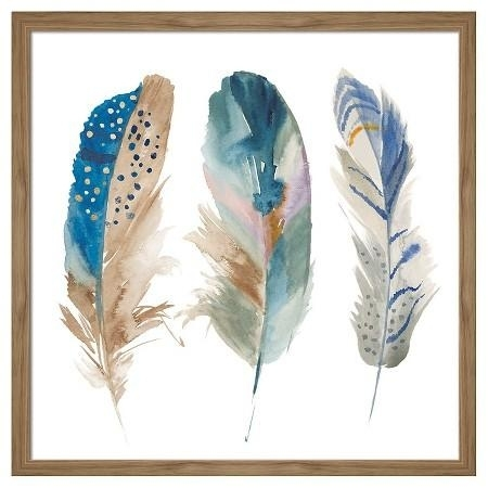 10 Best Ideas Feather Wall Art Wall Art Ideas