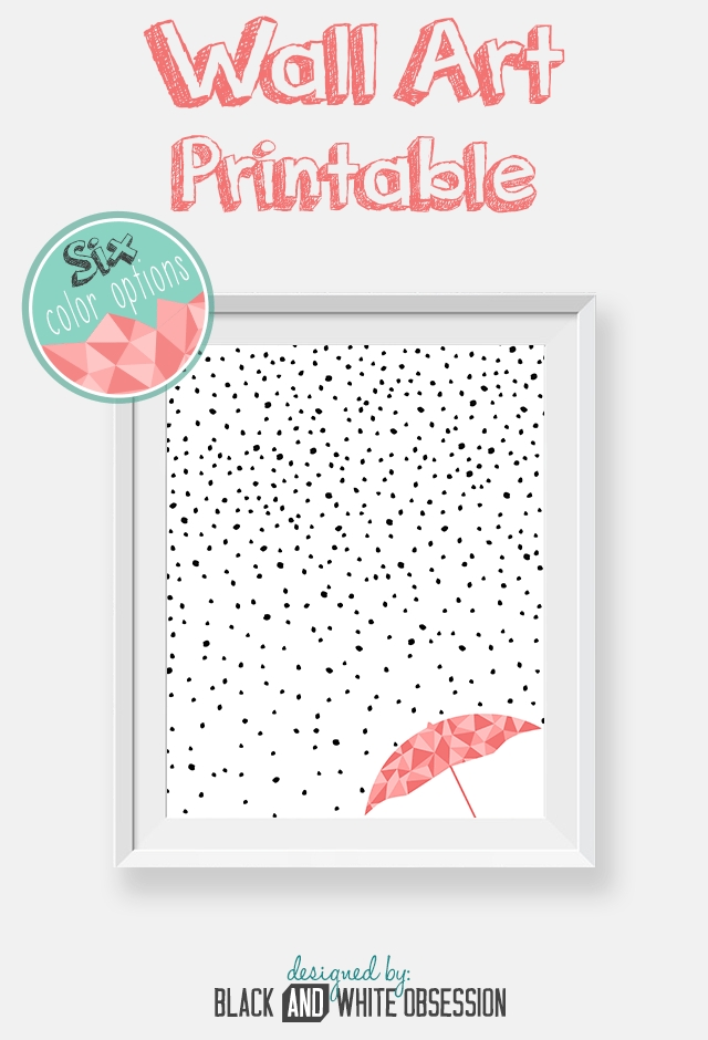 Free Printable: Rain And Snow Wall Art | All Things Thrifty Regarding Free Printable Wall Art (Image 9 of 10)