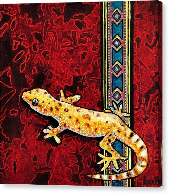 Gecko Canvas Prints (Page #13 Of 34) | Fine Art America Intended For Gecko Canvas Wall Art (Image 5 of 10)