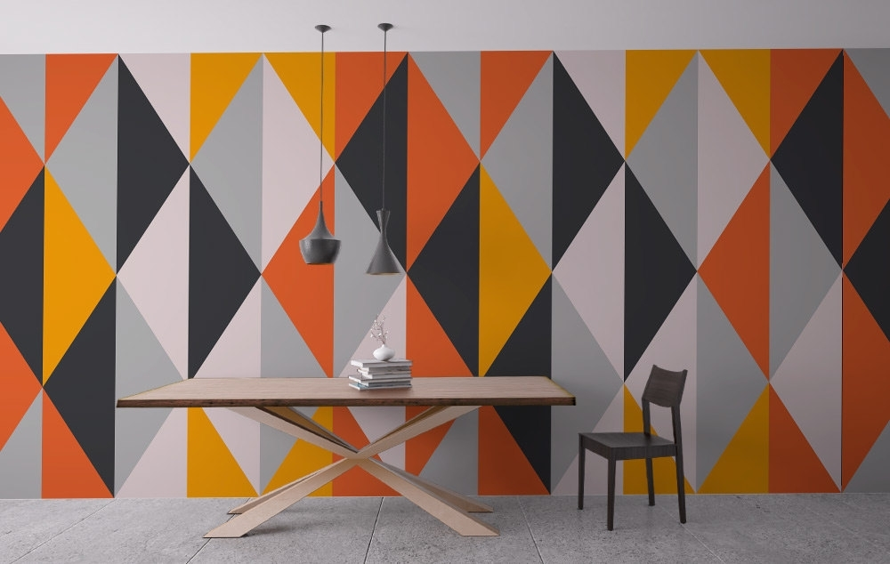 Featured Image of Geometric Wall Art