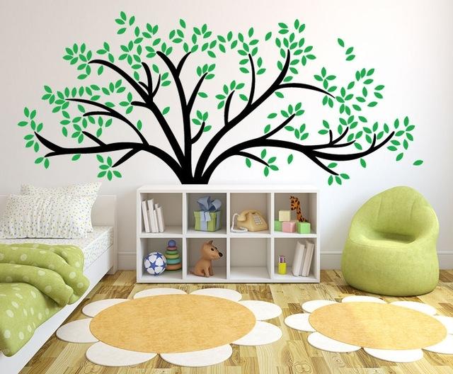 Giant Family Tree Wall Sticker Vinyl Art Home Decals Room Decor Inside Family Tree Wall Art (View 6 of 10)