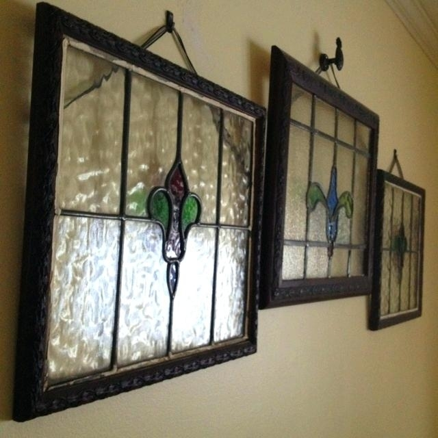 Glass Wall Hangings Elegant Stained Glass Wall Art – Wall Decoration Inside Stained Glass Wall Art (Image 5 of 10)
